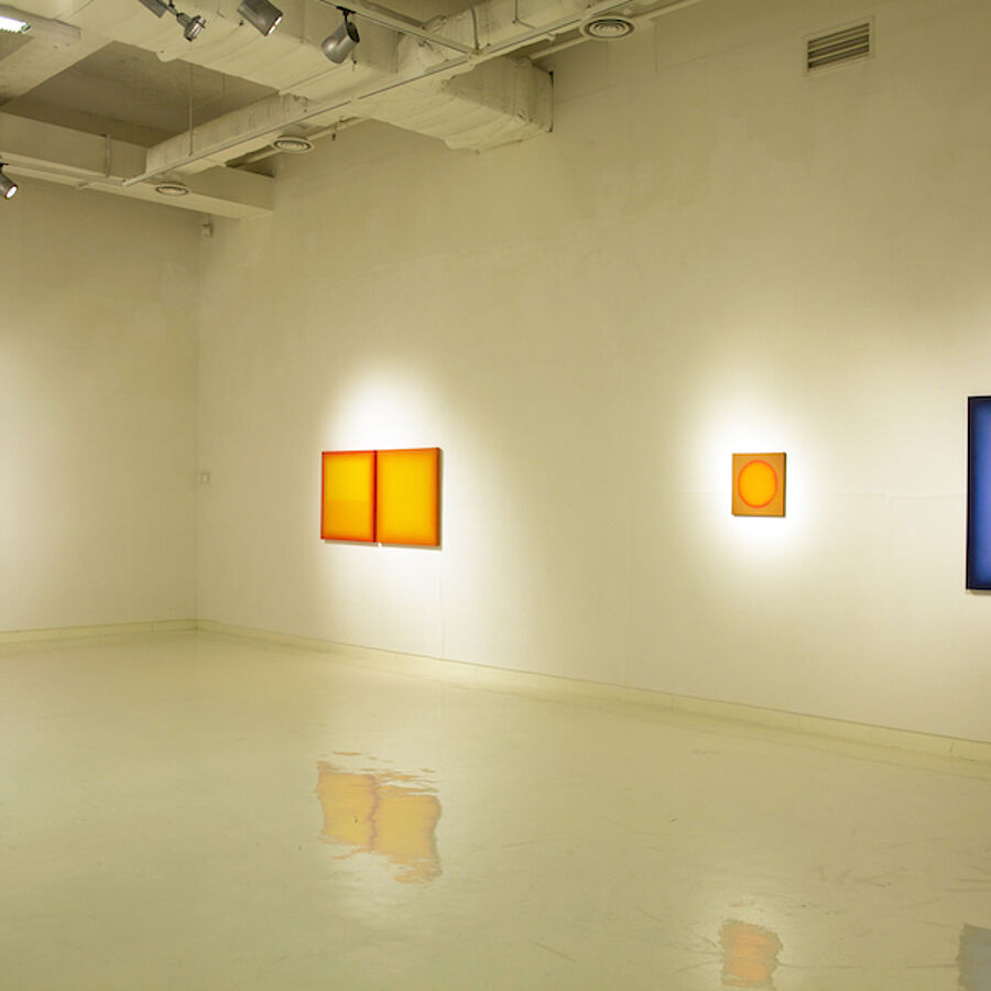 Youngeun Museum Korea - Eberhard Ross red yellow blue